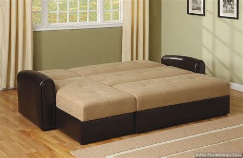 Sectional Sleeper Sofa With Storage Smalltowndjs Com Sectional Sofa With Storage And Sleeper