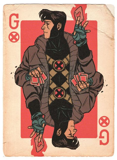 how to make gambit cards 17 best images about on professor dan