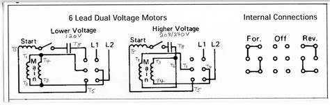110 220 motor wiring diagram wiring diagram with description