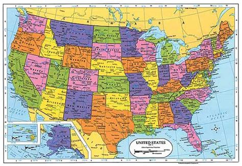 map of us states geography geography