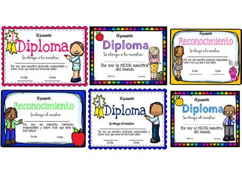 Imagenes De Reconocimientos Escolares | maravillosos diplomas y reconocimientos para el d 237 a del