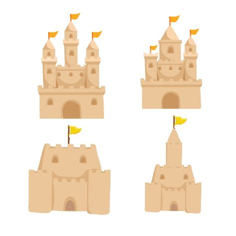 sand castle clipart sandcastle vectors photos and psd files free