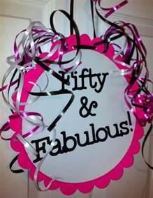 50th birthday decorations favors ideas