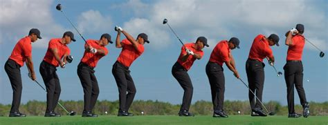 golf swing tiger woods swing sequence tiger woods golf digest
