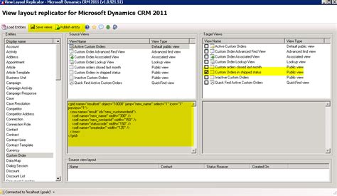 layout xml crm using view layout replicator for microsoft dynamics crm