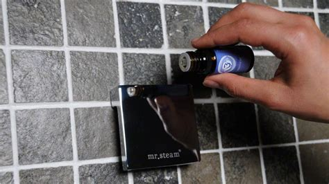 How To Use Essential Oils In The Shower by Smart Bathroom Steam Therapy By Mr Steam