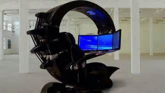 best desk chair for gaming ces the best pc gaming chair ign video