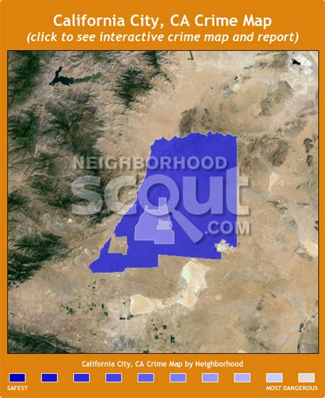 california crime map california city crime rates and statistics neighborhoodscout