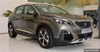 Peugeot 3008 Malaysia Price 2017 Peugeot 3008 Suv In Malaysia 1 6 Litre Turbo Engine