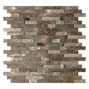 Peel And Stick Stone Backsplash 1000 Images About Peel And Stick Backsplash On Pinterest