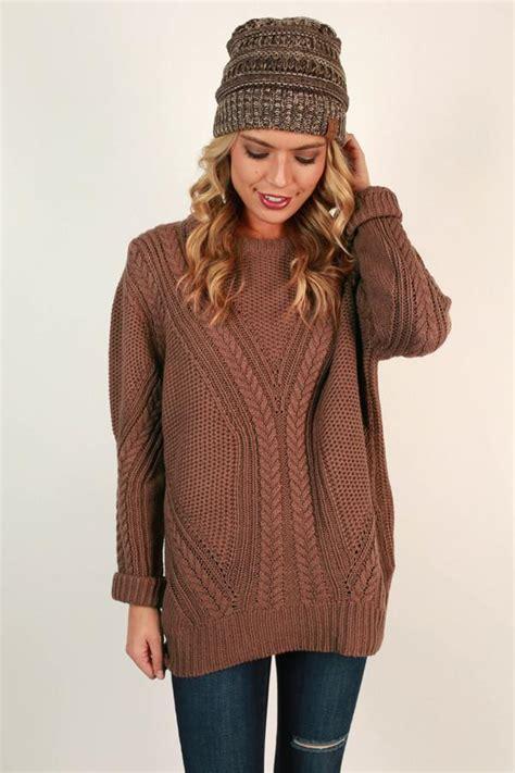 Sugar Sweater sugar and snuggs knit sweater in rustic impressions boutique