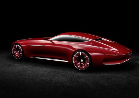 mercedes concept cars vision mercedes maybach 6 electric vehicle concept is out