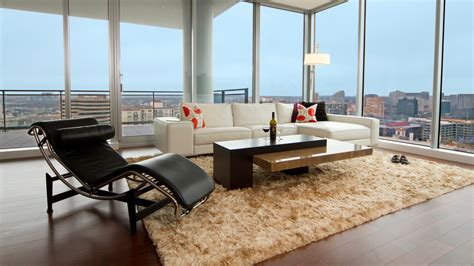 shag rug living room modern with beige shag rug