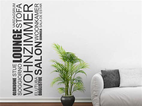 Wandtattoo Wohnzimmer by Wandtattoo Wohnzimmer Banner Sprachen Wandtattoo De