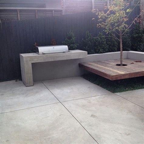 concrete bbq bench concrete bbq bench and house surround after shot