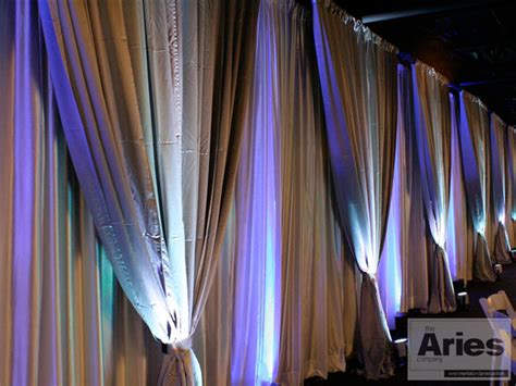 how to drape walls with fabric fabric draping the aries company