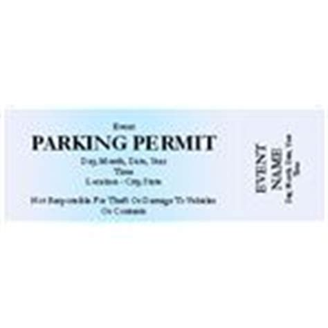 parking permit templates use free microsoft publisher parking ticket