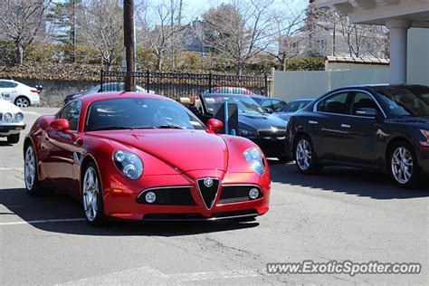 alfa romeo 8c spotted in greenwich connecticut on 04 06 2014
