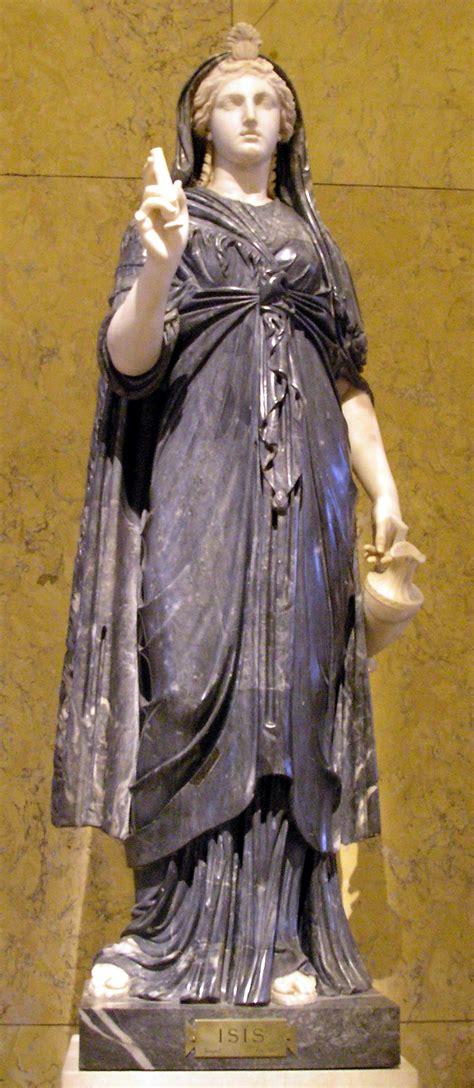 list of roman deities wikipedia the free encyclopedia file isis vienna jpg wikimedia commons