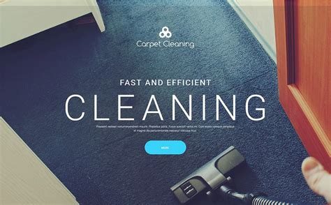 20 Best Maintenance Html Website Templates 2018 For Auto Repair Carpet Cleaning Website Template