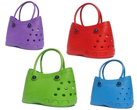 Crocs Handbags handbags bags lubber tote rubber croc waterproof