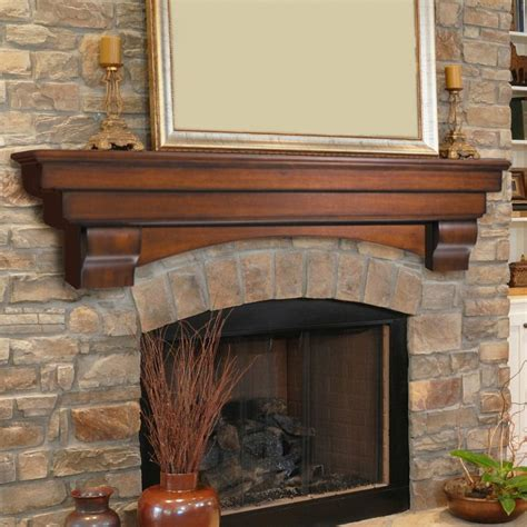 pearl mantels auburn traditional fireplace mantel shelf www