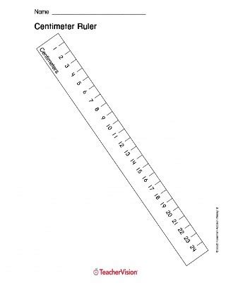 printable ruler first grade printable centimeter ruler measurement 1st 5th grade