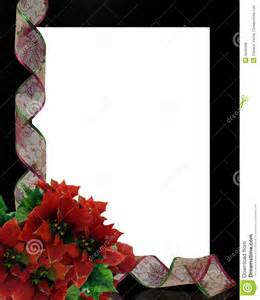 christmas flowers border royalty free stock photos image