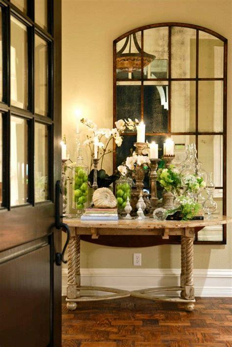 entry table home decor pinterest beautiful entry table and mirror home decor ideas