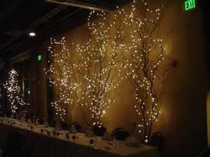 lighted branches allison s wedding pinterest