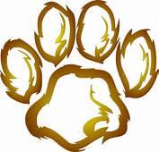 Lion Paw Print Clipart  Suggest