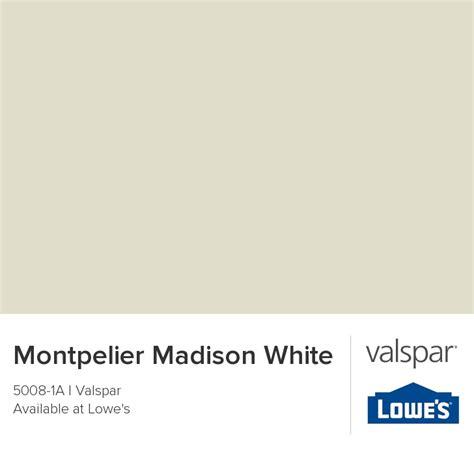 valspar white paint colors montpelier madison white from valspar diy inspiration
