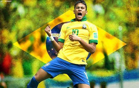 imagenes de neymar jr wallpaper neymar backgrounds brazil flag 2016 wallpaper cave