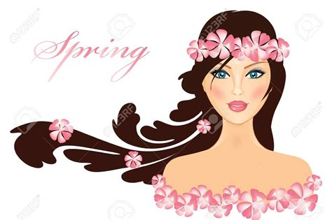 beautiful cartoon women art beautiful clipart pretty lady pencil and in color