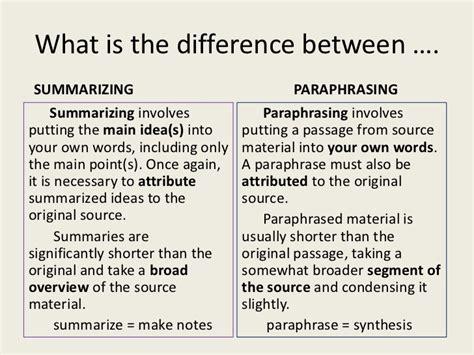 Sle Essay For Summarizing Paraphrasing And Quoting summarizing and paraphrasing pepsiquincy