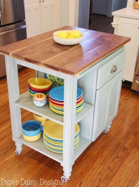 diy kitchen island cart 5 diy ideas to create the perfect kitchen island for your