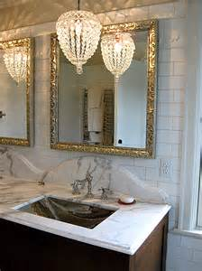 Chandelier Sconces Bathroom Bathroom Chandelier Home Design Ideas Pictures Remodel
