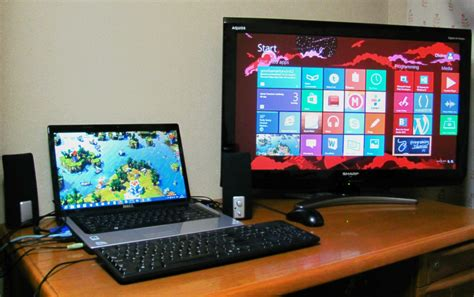 How To Dual Screeens From Mba To External Monitor by Monitors In Windows 8 Divinity In Tech