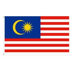 Bendera malaysia malaysia flag 3 x 6 90cm x 180cm item no