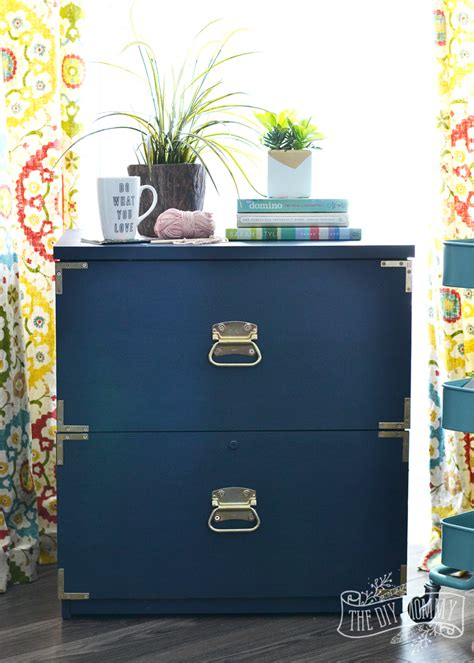 how to make a filing cabinet a caign dresser inspired filing cabinet makeover win