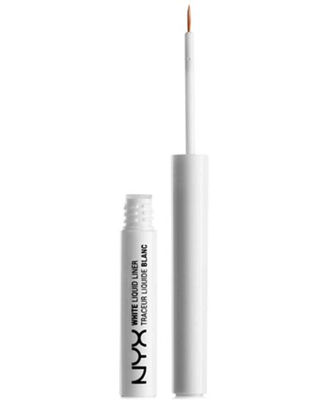 Eyeliner Nyx White nyx professional makeup white liquid liner shop all