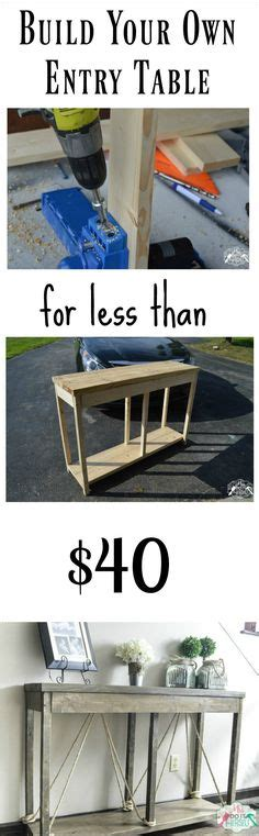 build your own sofa table 1000 ideas about rustic sofa tables on pinterest rustic