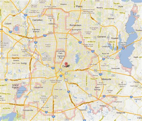 map for dallas texas zip code map dallas fort worth tx