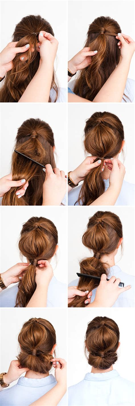 Easiest Hairstyles by The Easiest Diy Hairstyle Tutorials To Shine Every Morning