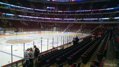 Section 113 United Center united center section 113 chicago blackhawks rateyourseats
