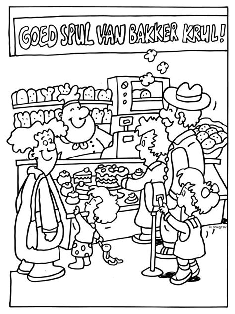 baker coloring pages preschool 1000 images about panadero on pinterest play food pain