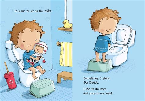 Toilet Time For Board Book With Toilet Flush Sound Button 1 new toilet time for boys board book free shipping 9781743630143 ebay