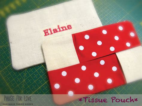 Tissue Pouch tissue pouch pause for
