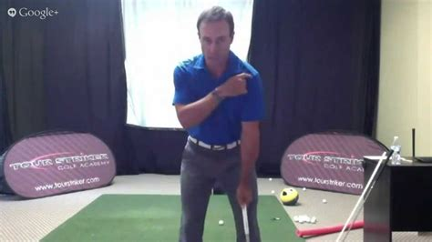 martin chuck golf swing martin chuck tour striker training program modern golf