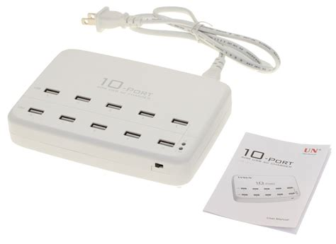 Jellico Usb Charger Hub 5 Port Power Adapter 10 ports universal usb ac charger hub with adapter 60w 5x2 1a max